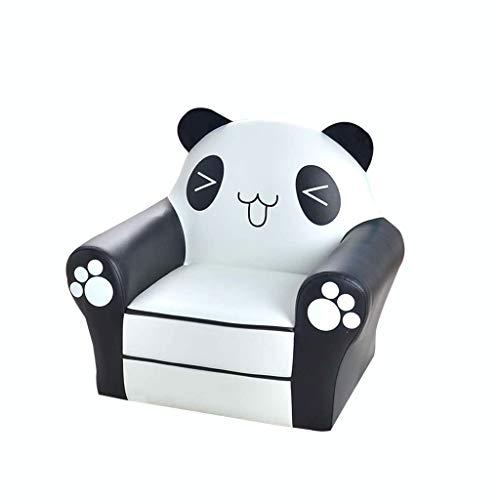MWY Butaca Dibujos Animados Silla Infantil Cómodo Y Duradero Muebles for Niños Panda Mini Sofa Sillón for Niños Marco De Madera Los 52X35x50cm