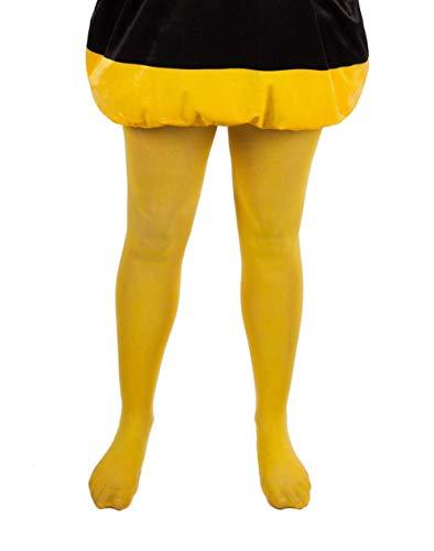 Maskworld Biene Maja & Willi - Strumpfhose für Erwachsene - Kostümzubehör - Karneval, Fasching, Motto-Party - Größe S-L