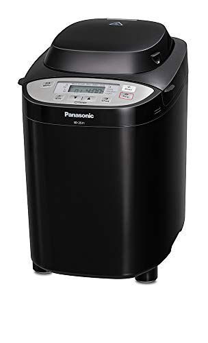 Panasonic SD-2511KXC Fully Automated Breadmaker with Nut Dispenser, Black
