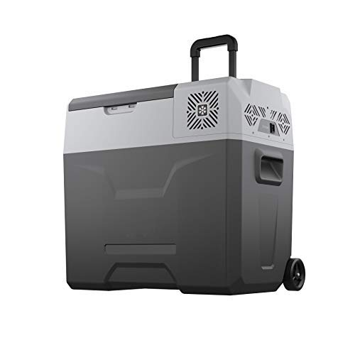 Purchase Alpicool CX50 Portable Refrigerator 53 Quart with Trolley Mini Fridge Freezer for Driving, Travel, Fishing, Outdoor -12/24V DC