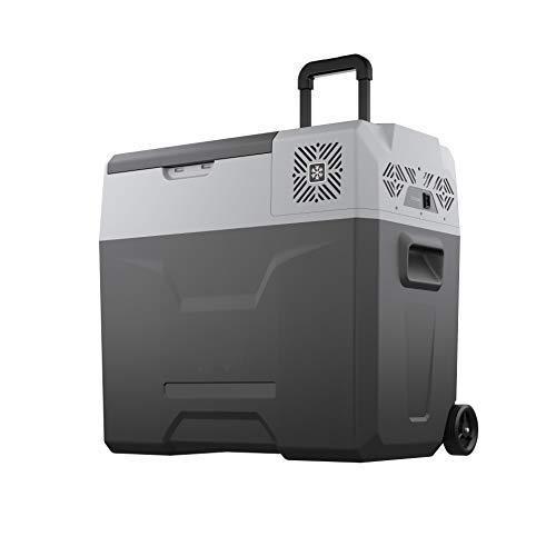 Purchase Alpicool CX50 Portable Refrigerator 53 Quart with Trolley Mini Fridge Freezer for Driving, ...