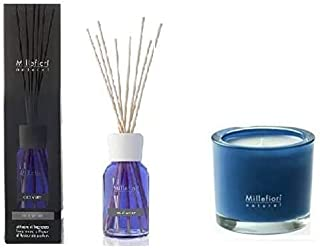 MILLEFIORI MILANO NATURAL SET DIFFUSORE 100ML + CANDELA (COLD WATER)