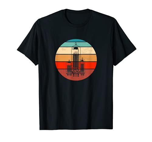 Röhrenradio Gitarrenverstärker Röhrenverstärker T-Shirt