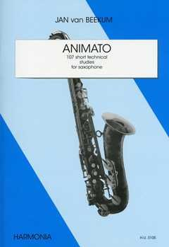 ANIMATO - 107 SHORT TECHNICAL STUDIES - arrangiert für Saxophon [Noten / Sheetmusic] Komponist: BEEKUM JAN VAN