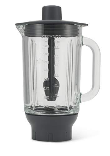 Kenwood KAH358GL Accesorio Batidora de vaso Thermoresist compatible con Robots de Cocina Kenwood Chef y Major, 1.6 L, transparente y negro