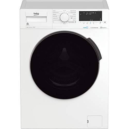 Lavadora secadora – Beko HTV 8716 DSW, 8/5 Kg, 1400 rpm, 57 dBA, Motor ProSmart? Inverter, A, Blanco