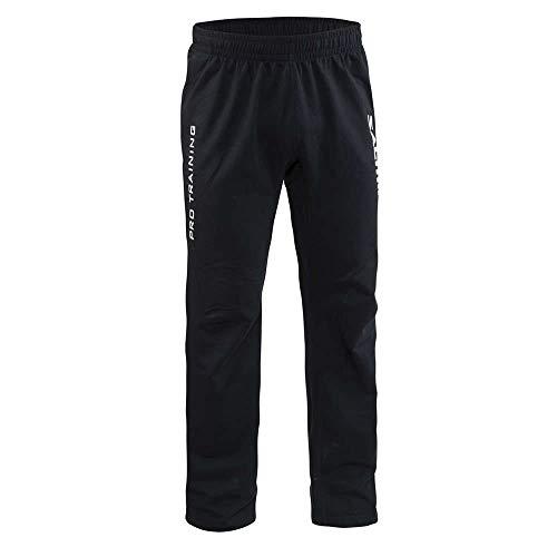 Salming Crest Pant Handball Hose Torwarthose schwarz/weiß, Größe:L