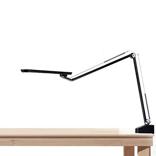 Lámpara de Mesa Rústica de Granja Lámpara de lectura LED de la lámpara de escritorio ajustable del brazo oscilante luz de la lectura Con encendido / apagado del brazo del oscilación lámpara de cabecer