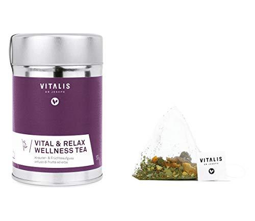 Vitalis - Kräutertee Vital & Relax Wellness Tea 30g - Tee von Vitalis Dr. Joseph, Menge:6 Stück