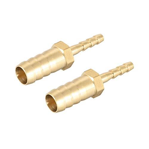 Verbindungsstück für Rohre von 10 mm bis 4 mm, Messing, Reduzierstück,...