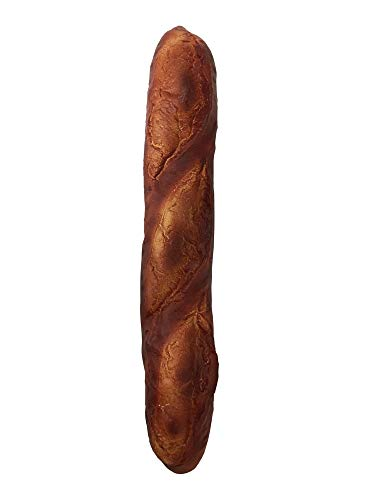 iBloom Le Pain Francais Realistic Bread Slow Rising Jumbo Squishy Toy (Chocolat, Chocolate Scented) for Party Favors, Stress Balls, Birthday Gifts