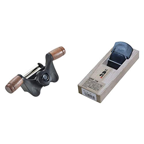 角利(KAKURI) ホーム研ぎ器 KBS-50 & 角利 ミニ鉋 芯樫 42×150mm【セット買い】