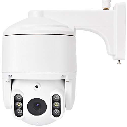 Exliy Cámara IP CCTV HD WiFi para Exteriores, cámara de Seguridad, Horizontal 0 ° -355 °,(100-240V European Standard)