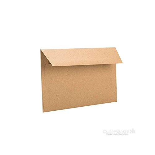 ClearBags Brown Superlatite Bag Tampa Mall Envelopes by Rustic For In Theme