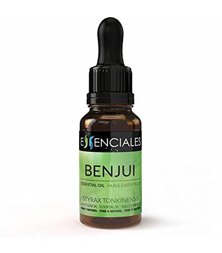 Essenciales - Aceite Esencial de Benjui, 100% Puro, 10 ml   Aceite Esencial Styrax tonkinensis