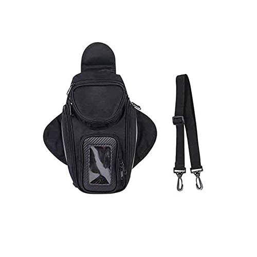 Motorrad Tankrucksack Wasserdichtes Oxford Magnetische Satteltaschen Reise Werkzeug Gepäckstück mit USB-Ladegerät