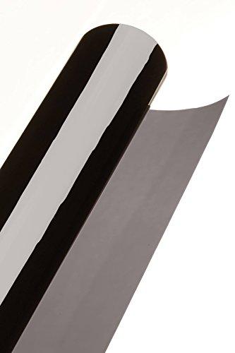 BLACKGLASS IX® Scheibentönungsfolie Spitzenqualität Tönungsfolienrolle für Autos, Transporter und Fahrzeuge 5% VLT, 6 m x 65 cm, 2-lagig, tiefschwarz