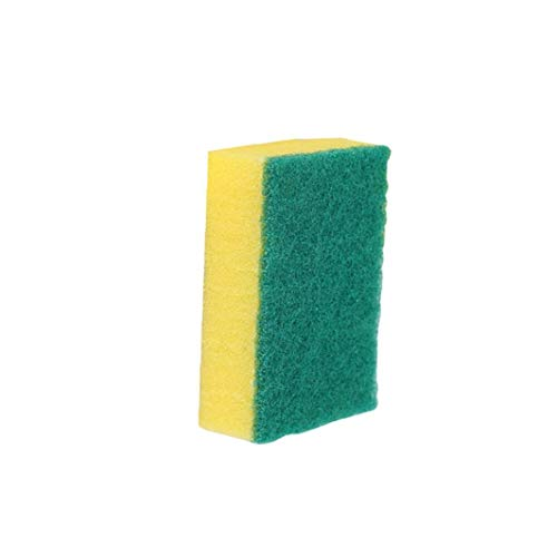 TOPofly Exfoliante Esponja de celulosa, Esponja para Lavar Platos Toallitas Trapo de Limpieza de Doble Cara del Cepillo de Limpieza para Lavar Platos Pot Paño para Limpieza de Cocina