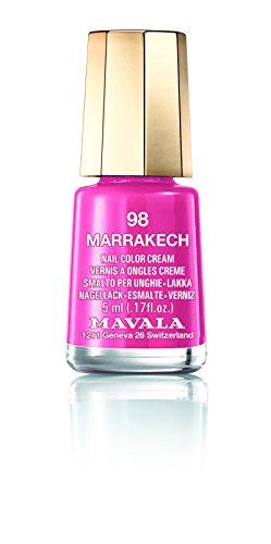 Mavala Mini-Nagellack, cremefarben, 5 ml – Marrakesch 98