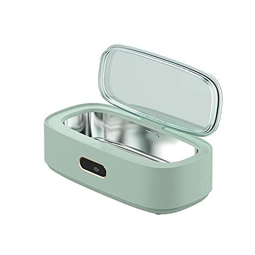ZZX Máquina limpiadora ultrasonidos de 300 ml, Limpiador de Joyas con 4 Modos de Limpieza, 40.000 Hz para Gafas, Relojes, Anillos, Monedas, maquinillas de Afeitar, dentaduras postizas