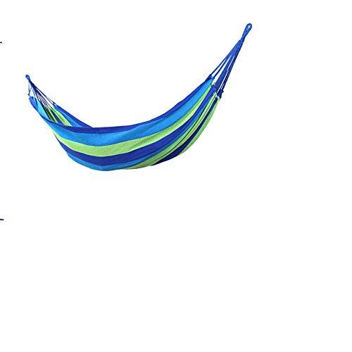 MONEYY des hamacs pour Se détendre à la Piscine intérieure et extérieure d'épaisseur Unique Toile Berth Chambre à Coucher,190 * 80cm,b1 Accueil