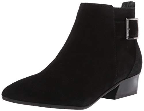 Aquatalia womens FERNN SUEDE Ankle Boot,Black,8 M