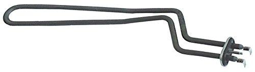Hobart Heizkörper für Spülmaschine FX, GX, FE-W 2700W 230V Länge 380mm Breite 105mm Anschluss Flachstecker 6,3mm Befestigung M5