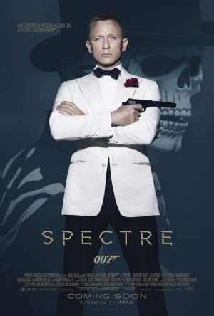 Spectre - James Bond 24 - Daniel Craig - US Movie Wall Poster Print - A4 Size Plakat Größe 007