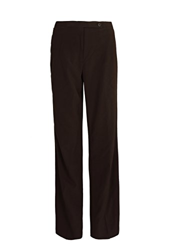 GEEK LIGHTING Womens Straight Fit Stretchy Trousers Coffee 6