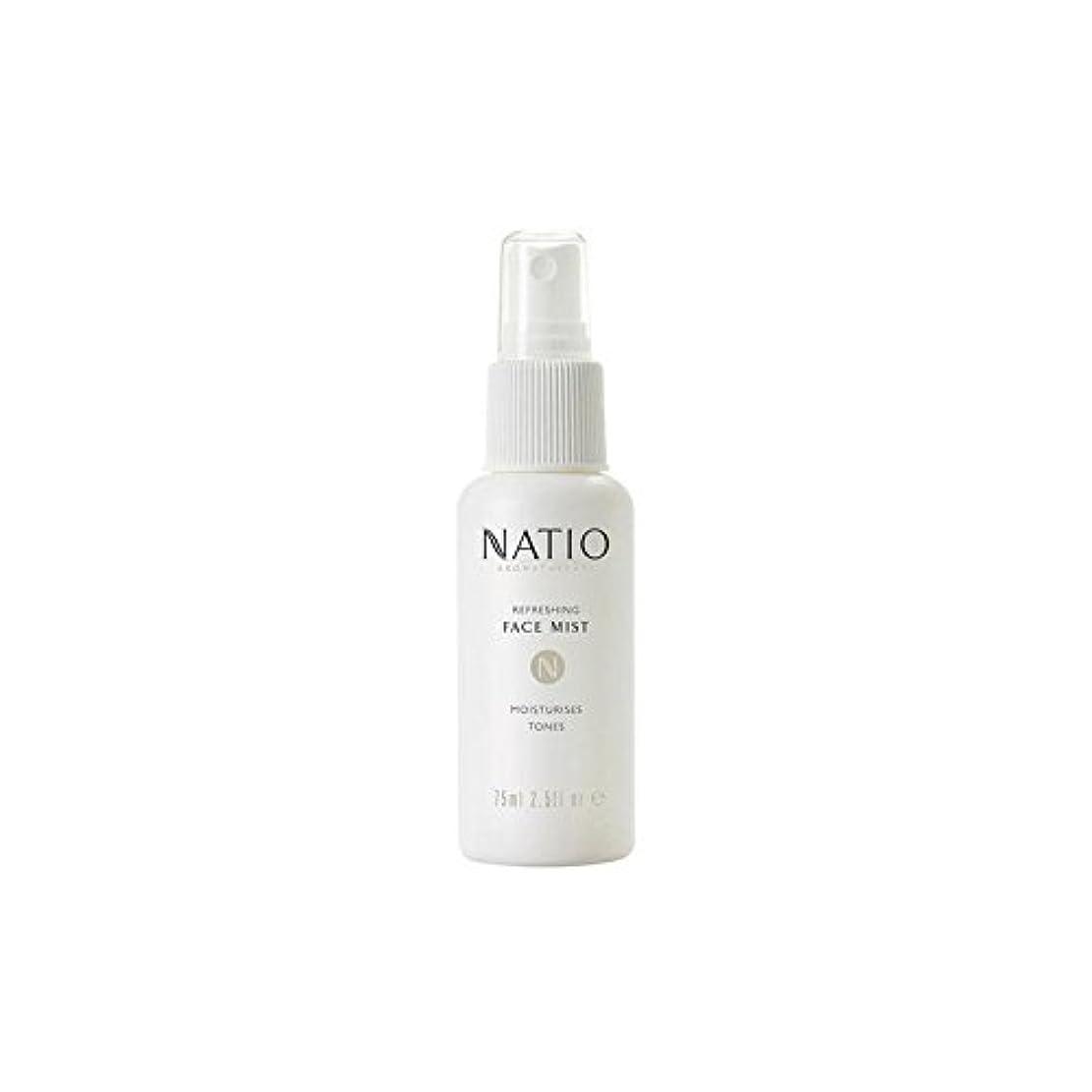 さわやかな顔ミスト(75ミリリットル) x2 - Natio Refreshing Face Mist (75ml) (Pack of 2) [並行輸入品]