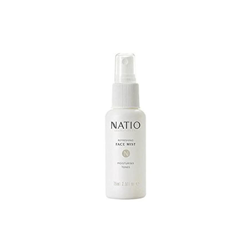 ゆりパラメータアフリカ人さわやかな顔ミスト(75ミリリットル) x4 - Natio Refreshing Face Mist (75ml) (Pack of 4) [並行輸入品]