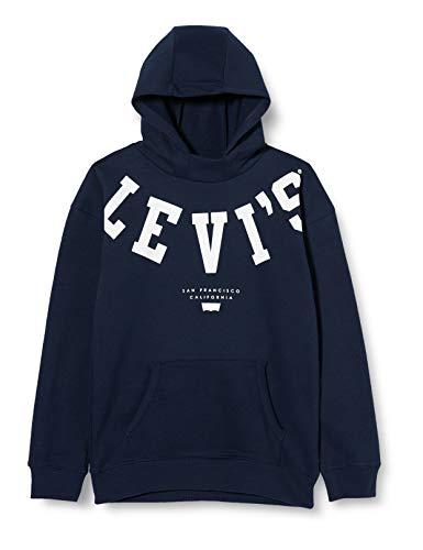 Levi's Kids Lvb Scuba Pullover Hoodie Sweater Garçon Bleu 4 ans