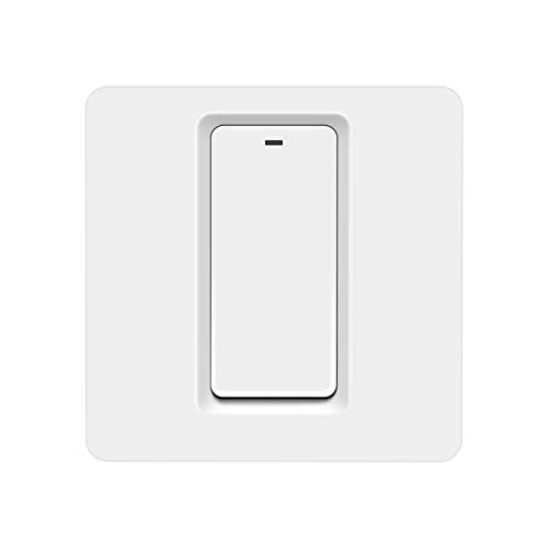 CML Estándar de la UE 220V 1/2 Gang Apple Homekit Smart WiFi LED Interruptor de luz de la Pared Push-Button Teclado Interruptors Smart Home (Color : 1 Gang)
