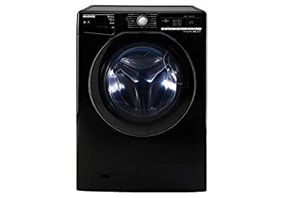 Hoover WDXOA496AHFNB A Rated Washer Dryer 9KG Wash / 6KG Dry, Black 1400RPM SPin