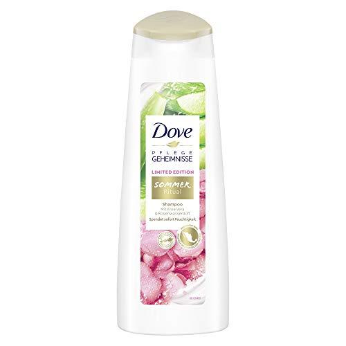 Dove Pflegegeheimnisse SHAMPOO Sommer Ritual Limited Edition mit Aloe Vera- und Rosenwasserduft, 6er Pack(6 x 250 ml)