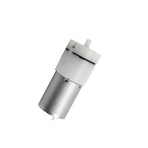 Aquariumzubehör 1PCS 370 Mini Luftpumpe (3V / 6V / 9V / 12V / 24V 1.5LPM) Injektionsluftpumpenüberwachungsinstrument-Luftpumpe Mini Inflatable Booster Motor Aquarium ( Color : 1.5LPM , Voltage : 6V )