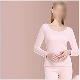 Lingerie Sets Women's thermal underwear plus velvet thickening winter bottoming women's warm clothing cover slim fashion d...