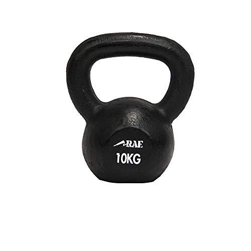 Kettlebell de Ferro Polido para Treinamento Funcional 10 kg - Rae Fitness