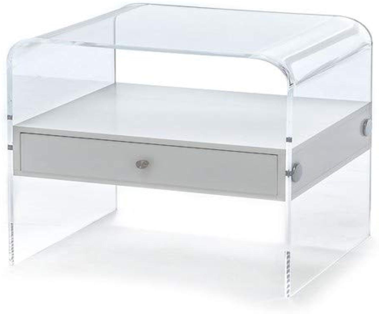 Wink Design Contemporary Living Nachttisch Panolia, Transparent