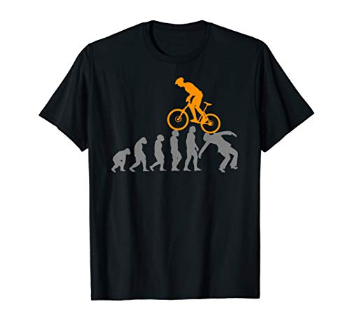 Evolution MTB Mountainbike Zubehör Fahrrad Bike lustiges fun T-Shirt