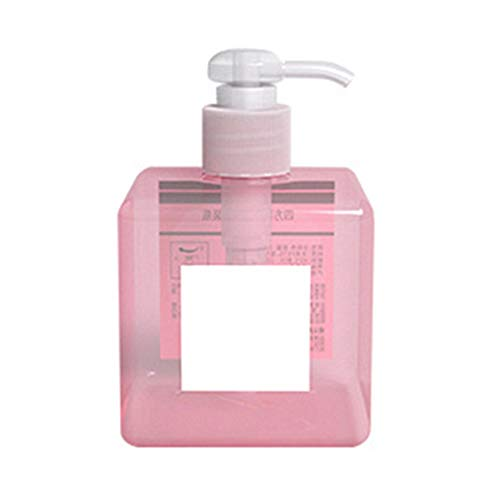 Yimosecoxiang Boîte de Voyage Portable pour cosmétiques et Produits de Soins de la Peau en Plastique 250/450 ML, Rose (Rose) - 1769871-yimosecoxiang-uk