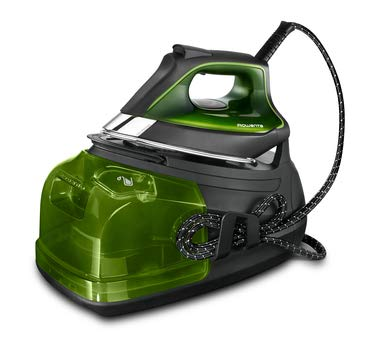Rowenta Perfect Steam Pro 2400 W 1,1 L Piastra Microsteam 400 Nero, Verde Pressione massima vapore: 7,4 bar