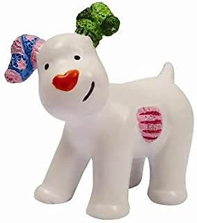 The Snowman and The Snowdog - Snowdog Cake Decoration Figurine