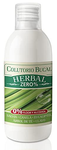 Colutorio Herbal Nature 500 ml. Natysal. Cuidado bucal sin alcohol
