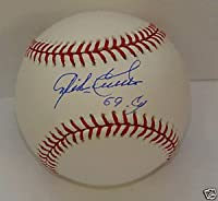 Mike Cuellar Autograph Baseball 1969 Cy Orioles