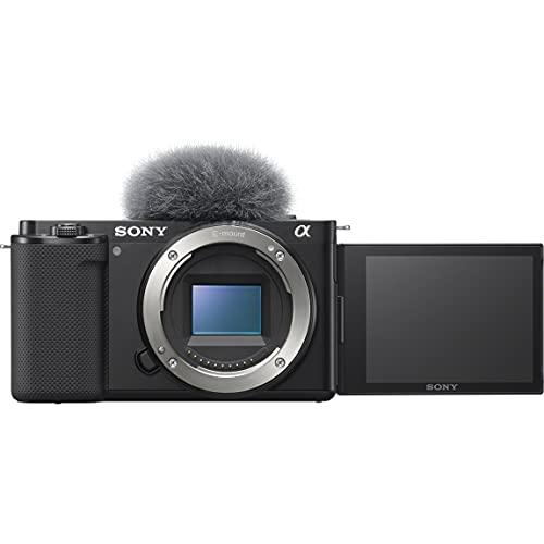 ソニー レンズ交換式 VLOGCAM ZV-E10 B ボディ ブラック Vlog用カメラ Cinematic Vlog シネマティック