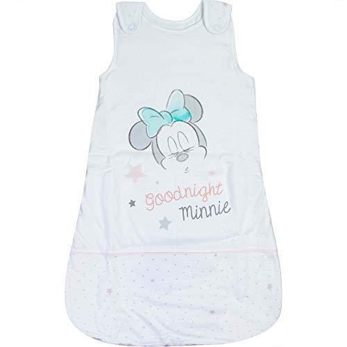 BABYBOGI Minnie Mouse Schlafsack Baby | Größe 70 cm 90 cm 110 cm 0-18 Monate | Disney Baby Schlafsack gepolstert (90cm (6-18Monate))
