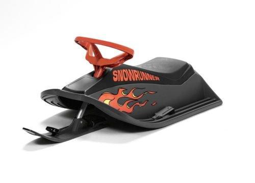 Stiga Giochi Neve Snowracer Flames Bob Monoposto Nero/Rosso