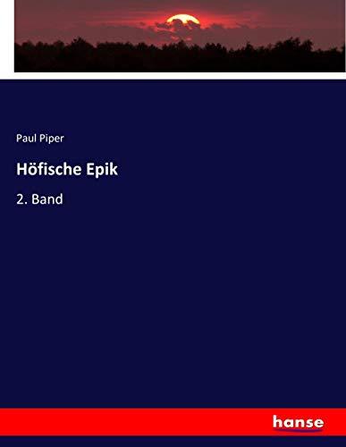 Höfische Epik: 2. Band