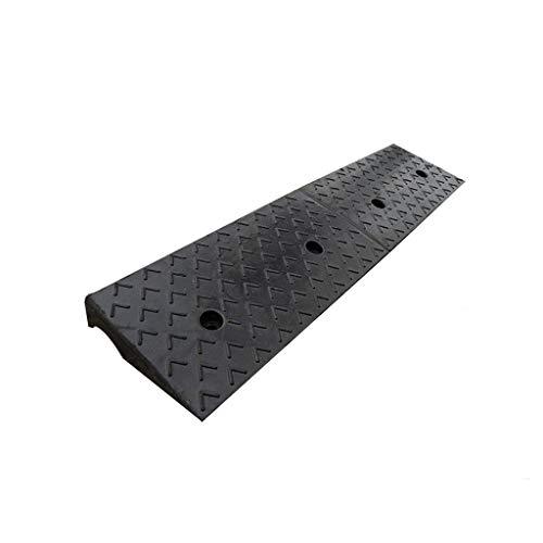 11CM / 12CM Step Pad, Super dikke rubberen Curb Oprijplaten Hotel Factory laadbruggen trekker Dienst Oprijplaten Black (Color : Black, Size : 100 * 30 * 11CM)